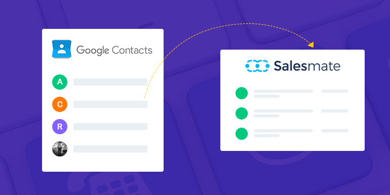 Google Contacts Integration With Salesmate