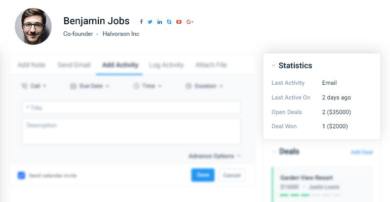 Smart Fields - Salesmate