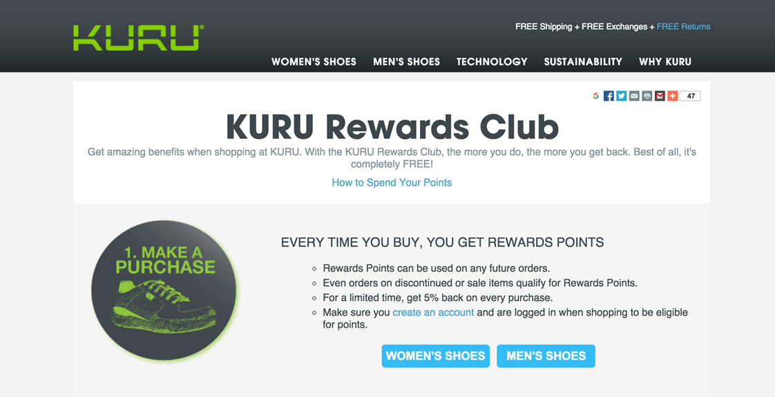 Have a Customer Loyalty Program