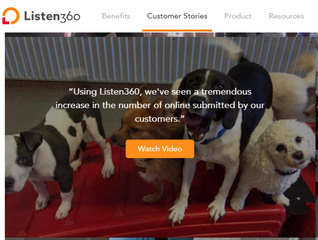 Share Customer Stories Through Videos