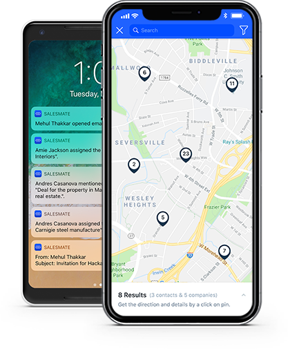 mobile CRM for real estate