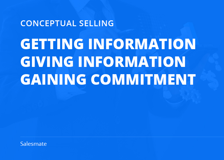Conceptual Selling Methodology