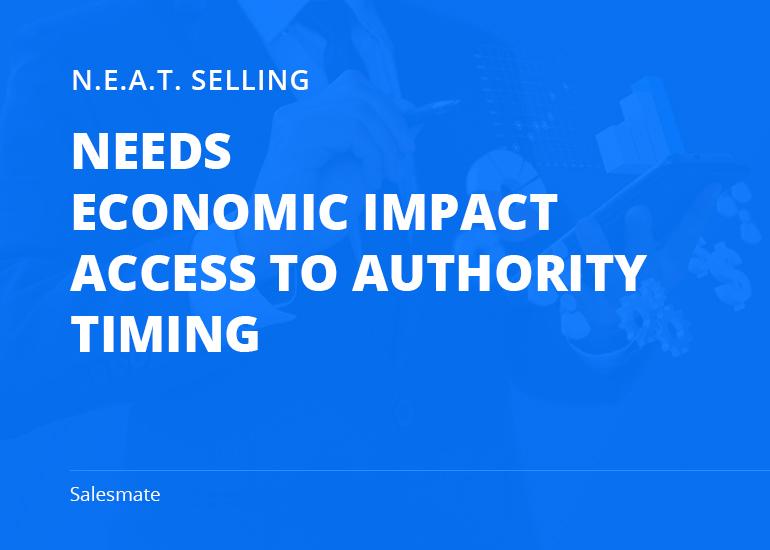 NEAT Sales Methodology