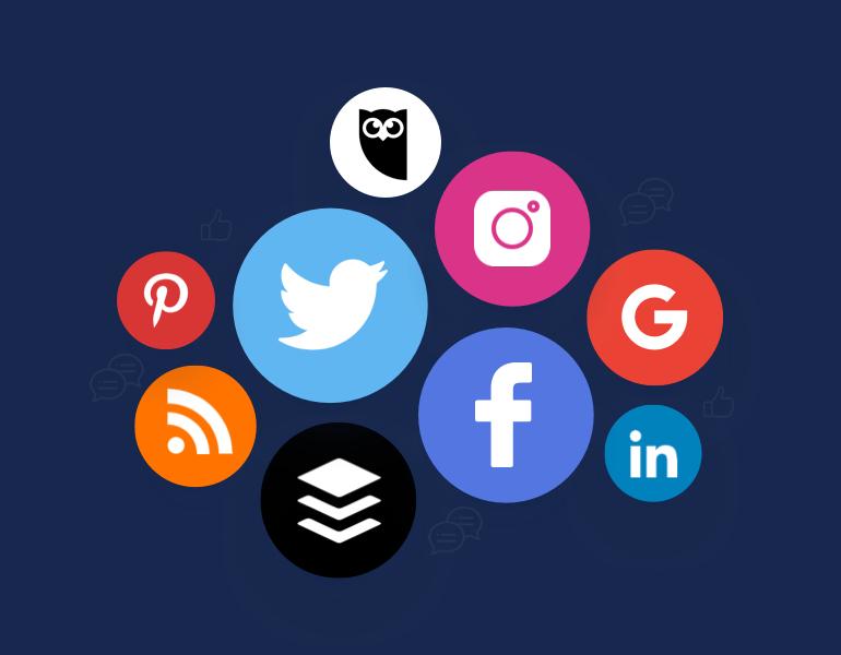 Use the power of social media