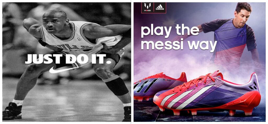 Michael Jordan and Lionel Messi to promote