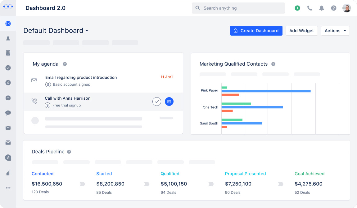 Save time and grow fast with a simple CRM