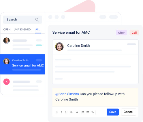 Collaborate over emails to deliver better client experience