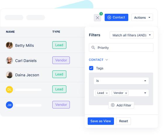 Add tags & smart filters