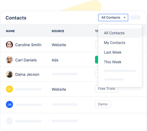 Efficiently manage students and parents contact data