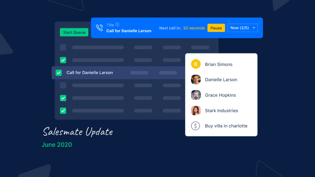 Accelerating your entire calling game: Introducing Salesmate Power Dialer
