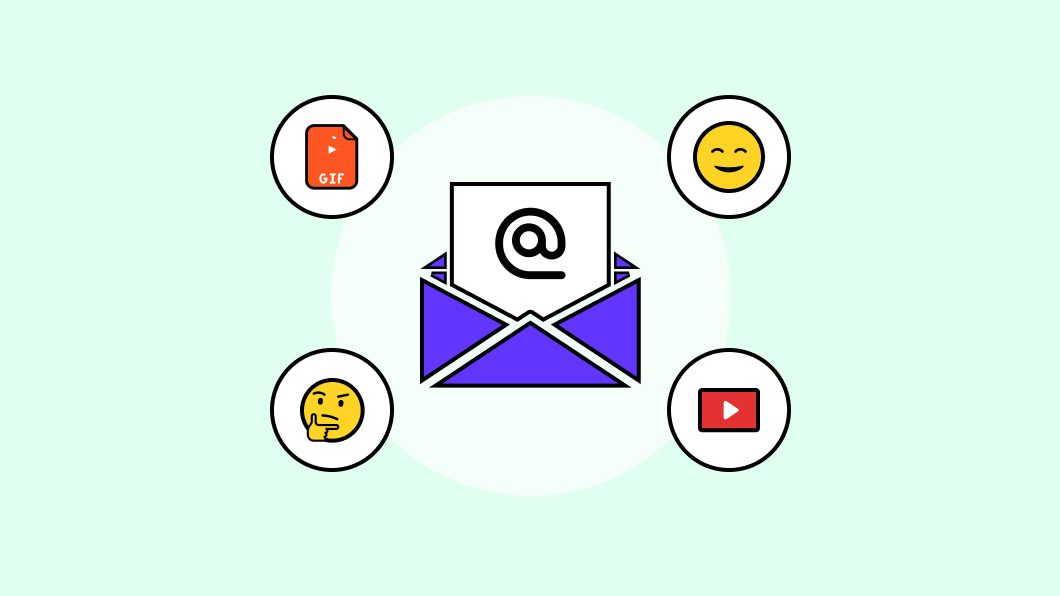 How to use GIFs, emojis, and videos to increase email open & response rates