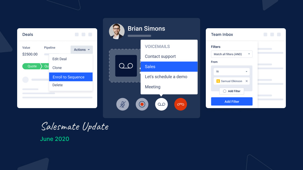 Opening new doors for Salesmate users: Updates & new features revelation